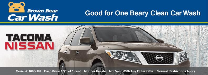 Dealership Program Brown Bear Car Wash