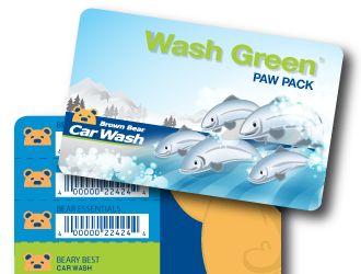 Wash green paw pack