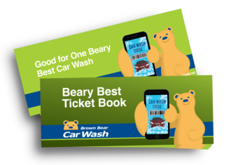 Beary best ticket book