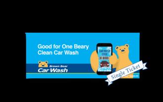 Beary clean single ticket