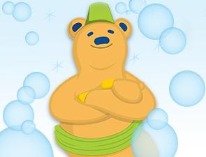 Club bear green